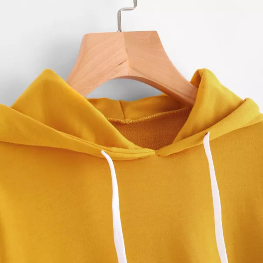 KANCOOLD Top Sweatshirts Women Letters Long Sleeve Hoodie Sweatshirt Pullover Tops Causal high quality sweatshirt women 18DEC6 22
