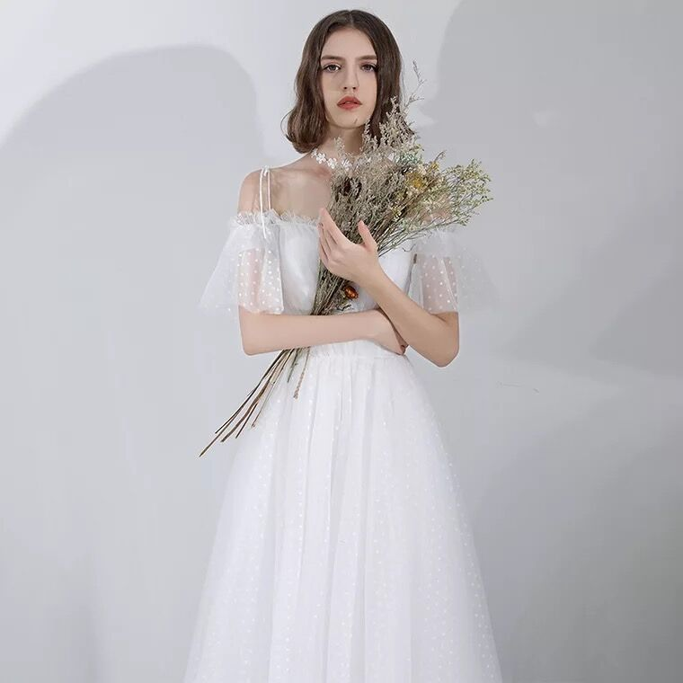 Vestiods Beach Party Long Maxi Summer Dress 2019 White Boho Elegant Straps Lace Runway Ladies Bride Wedding Dinner Dresses