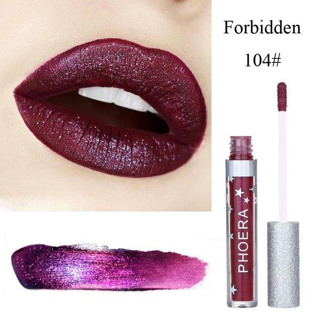 brixini.com - Waterproof Moisturizer Matte To Glitter Liquid Lipstick