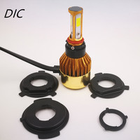 1 Set Hi Lo M6 35W 3500LM LED Motorcycle Headlight COB Moto Accessories Lamp H4 H6