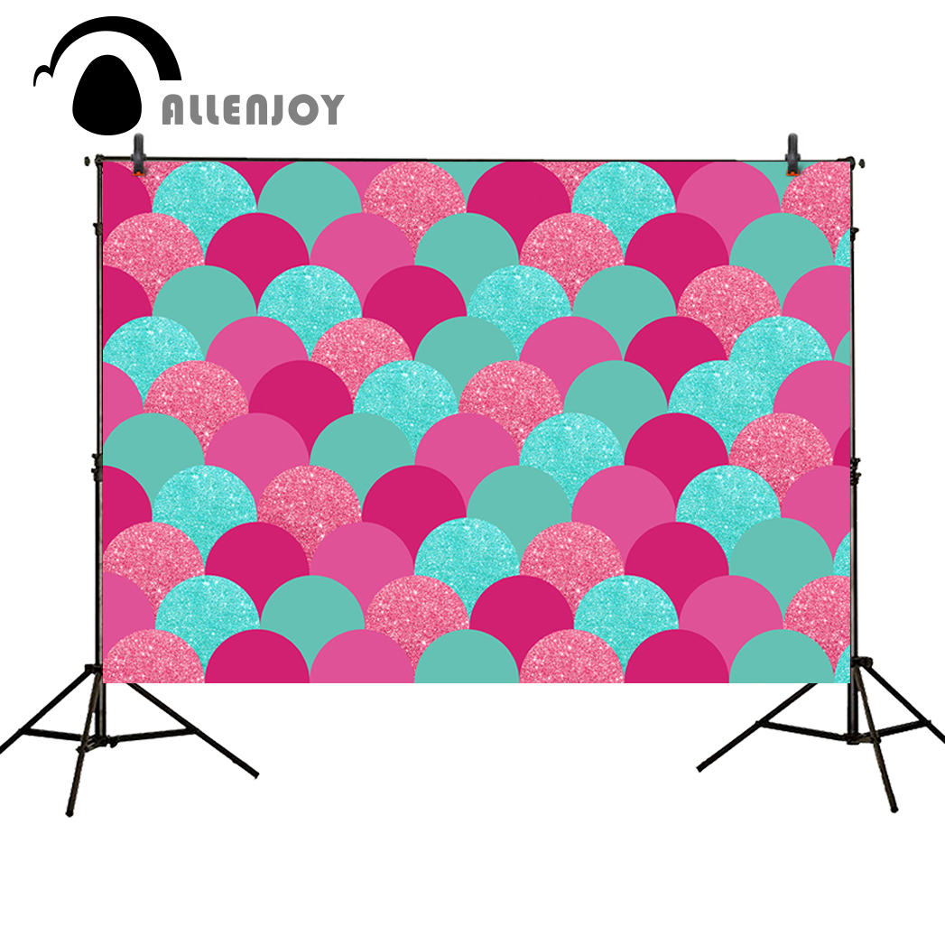 Allenjoy photo background shiny Pink green repeats glitter party backdrop background newborn photography background photo shoot
