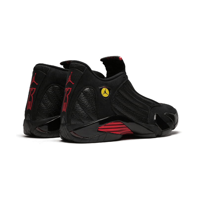 Original Authentic NIKE Air Jordan 14 Retro Men's Basketball Shoes Sport Outdoor Sneakers Medium Cut Lace-Up Good Quality 487471 60