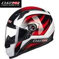 Nueva LS2 FF358 casco de la cara llena de la motocicleta casco Urbano Racing Motocross Motociclismo Cascos Casco Capacetes casco ECE