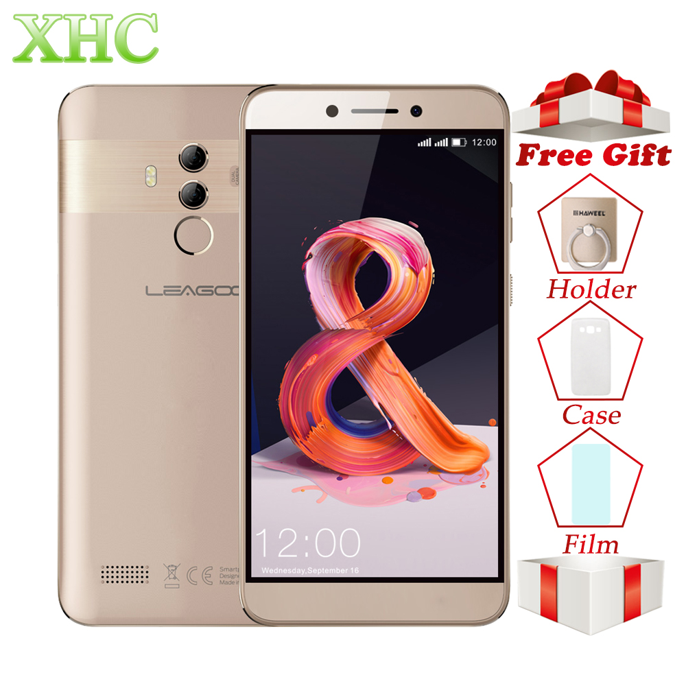 LEAGOO T8s Mobile Phone RAM 4GB ROM 32GB 5.5inch FHD Android 8.1 MT6750T Octa Core Face ID 13MP OTG GPS Dual SIM 4G Smartphones