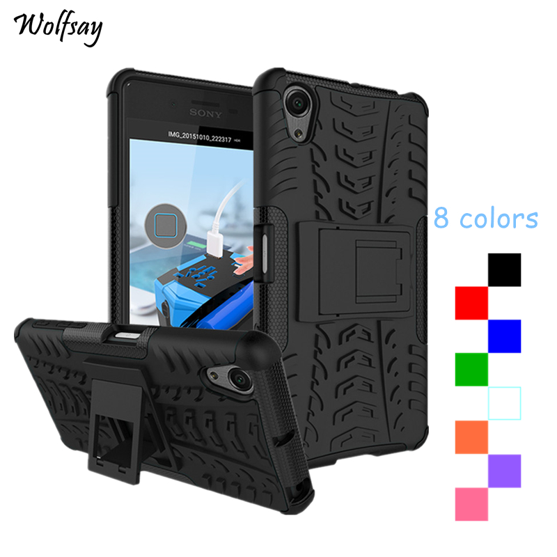 Wolfsay For Case Sony Xperia X Performance Case 5.0 inch Fashion Silicone Hybrid Armor Cover For Sony Xperia X Performance F8132