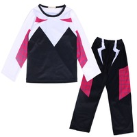 New 2019 Winter Spiderman Sets Clothing Baby Boys Clothes T shirt+Pants Teenage Kids Sports Suit Costume For Boys 3 4 5 6 7 Year