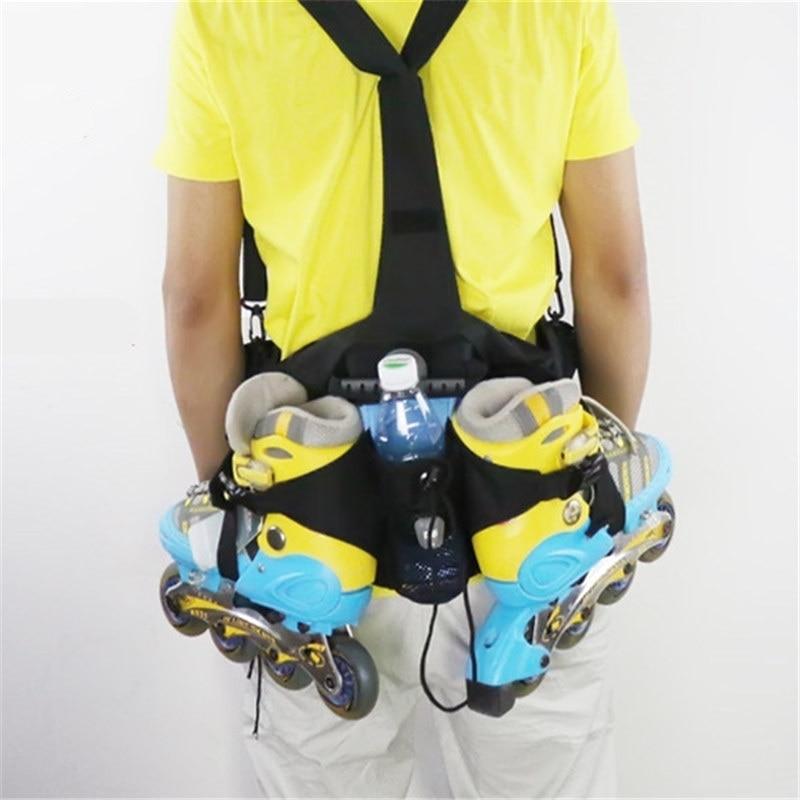 Skating Waist Backpack For Inline Skates Good as Wrist DC Waist font b Bag b font