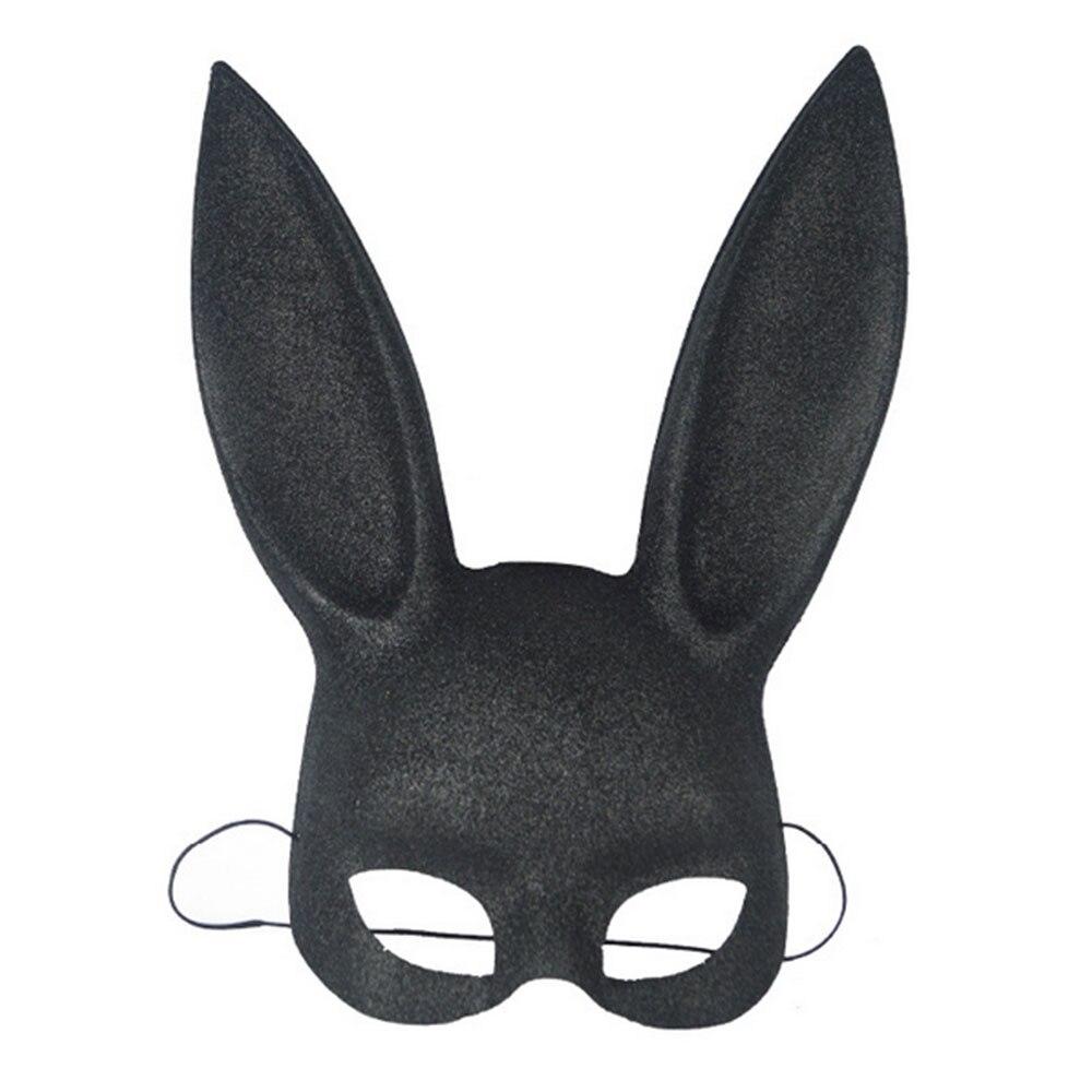 Маска для косплея на Хэллоуин с кроличьими ушками, нарядное платье, приколы