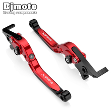 New NMAX125 NMAX155 2018 Motorcycle Clutch Brake Levers Foldable Extending Handle For Yamaha NMAX 125 155 2015-2018