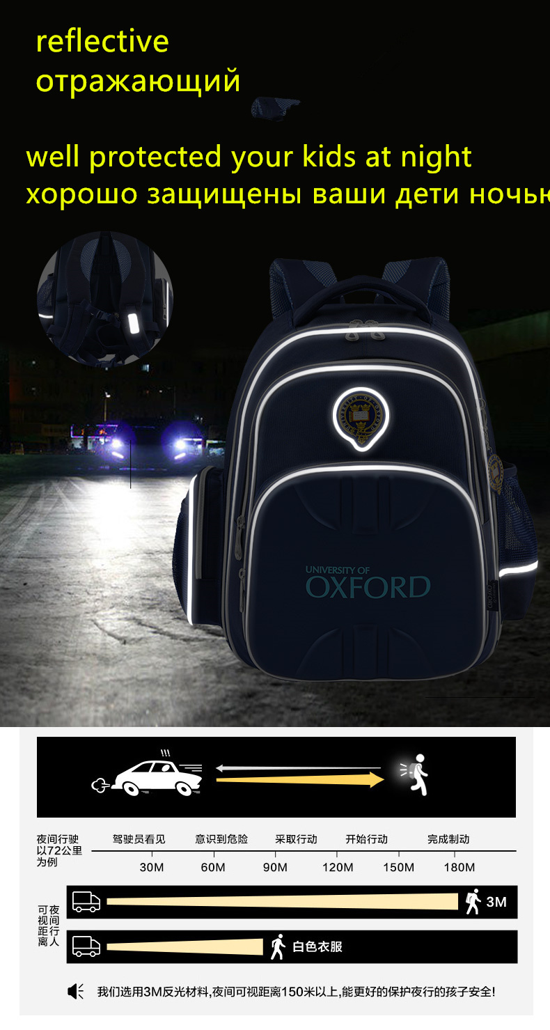 Image 3 - Venda quente universidade de oxford sacos de escola ortopédicos  crianças mochila carteira para adolescentes meninos meninasuniversity  of oxfordchildren backpacksbackpacks for children
