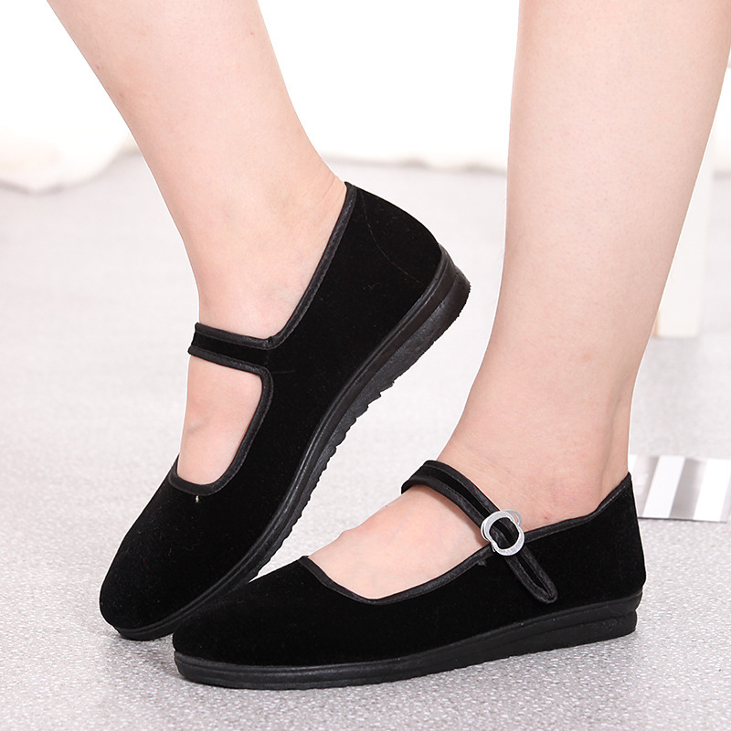 Women Mary Janes Flats Spring Loafers Ladies Buckle Strap Black Casual Fabric Mother Shoes Female Comfort Breathable Footwear 20Women Mary Janes Flats Spring Loafers Ladies Buckle Strap Black Casual Fabric Mother Shoes Female Comfort Breathable Footwear 20