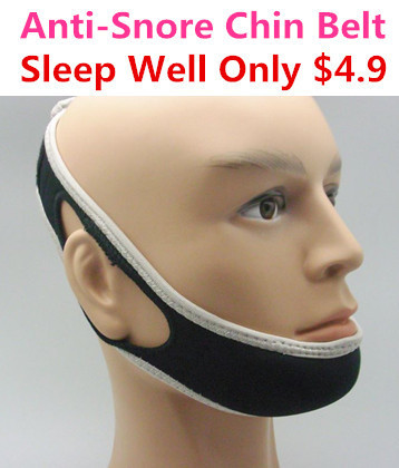 anti-snore chin belt