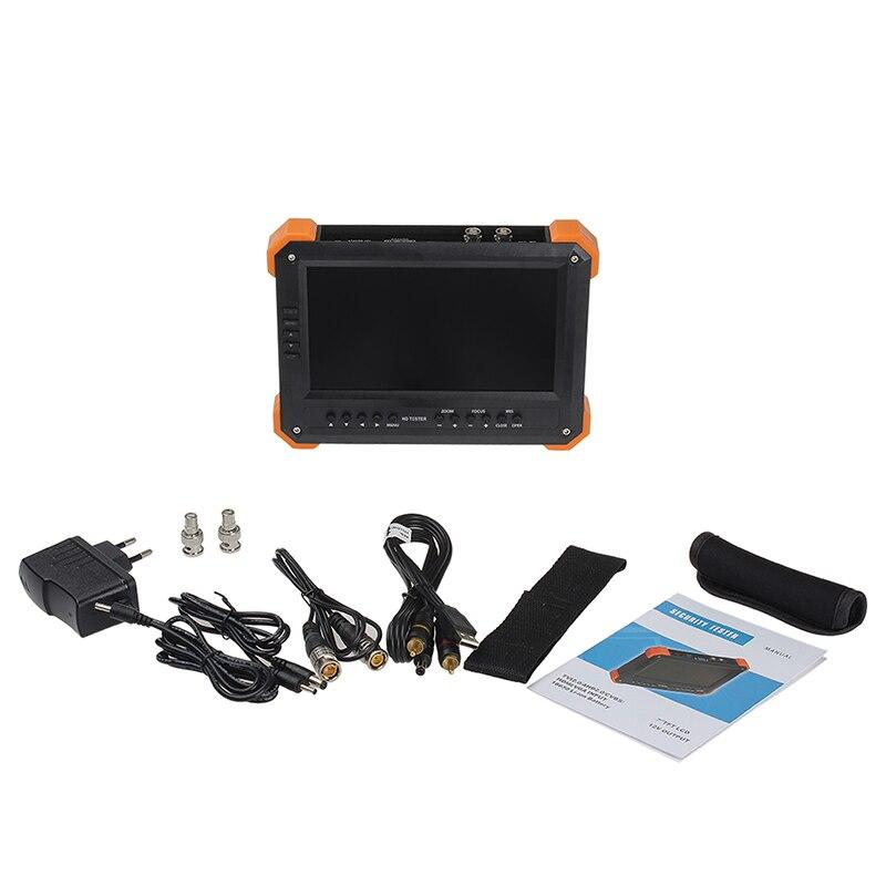 Portable X41TAC HD-TVI3.0+AHD+HDMI+VGA+CVBS Camera CCTV Tester 7 TFT LCD Monitor from asmile