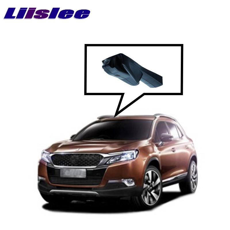 LiisLee Car Black Box WiFi DVR Dash Camera Driving Video Recorder For Citroen DS 6 DS6 2014~2017