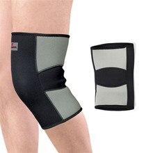 Activing 2016 New Warm Knee Protector Sports Tendon Training Elastic Knee Brace Supports joelheira genouillere ST23