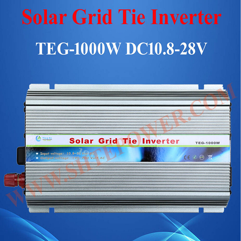 1KW High Quality 12V 24V DC to 110V 120V 220V 230V AC On Grid Solar Inverter 1000W With MPPT Function 1000w micro grid tie inverter mppt solar power dc 22v 60v to ac 90v 130v for 100v 110v 120v