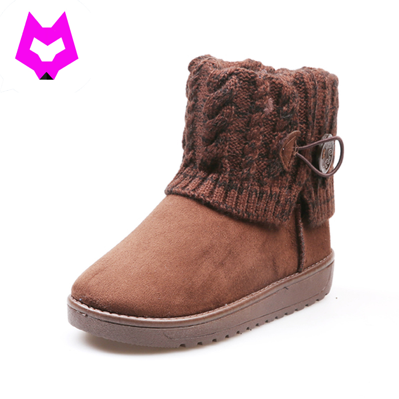 YtracyGold Snow Boots Suede Leather Women Boots Round Toe Warm Plush Winter Boots Flat With Platform Shoes Women Botines Mujer plush casual suede shoes boots mens flat with winter comfortable warm men travel shoes patchwork male zapatos hombre sg083