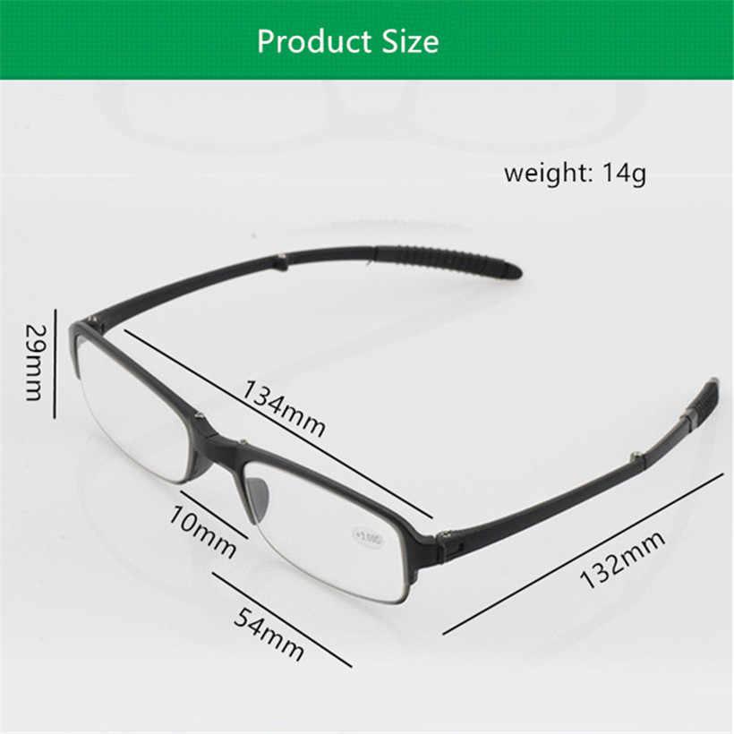 Gafas de lectura plegables ultra-ligeras YOOSKETR90 para hombre y mujer, gafas para presbicia portátiles para mujer, gafas para lectura masculina, gafas para hipermetropía