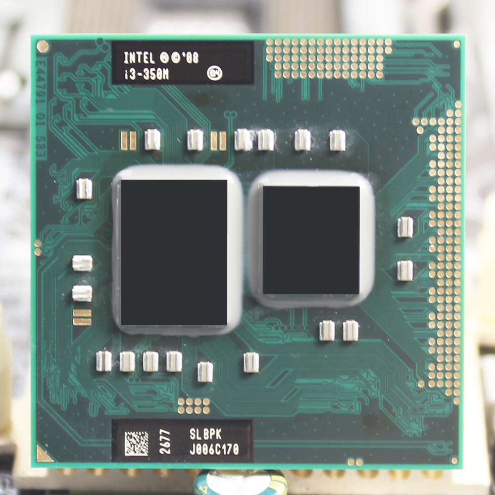 US $5 0 |Intel Core i3 350M 2 26GHz Dual Core Socket G1 laptop CPU  CP80617004161AC Processor Shipping free-in CPUs from Computer & Office on