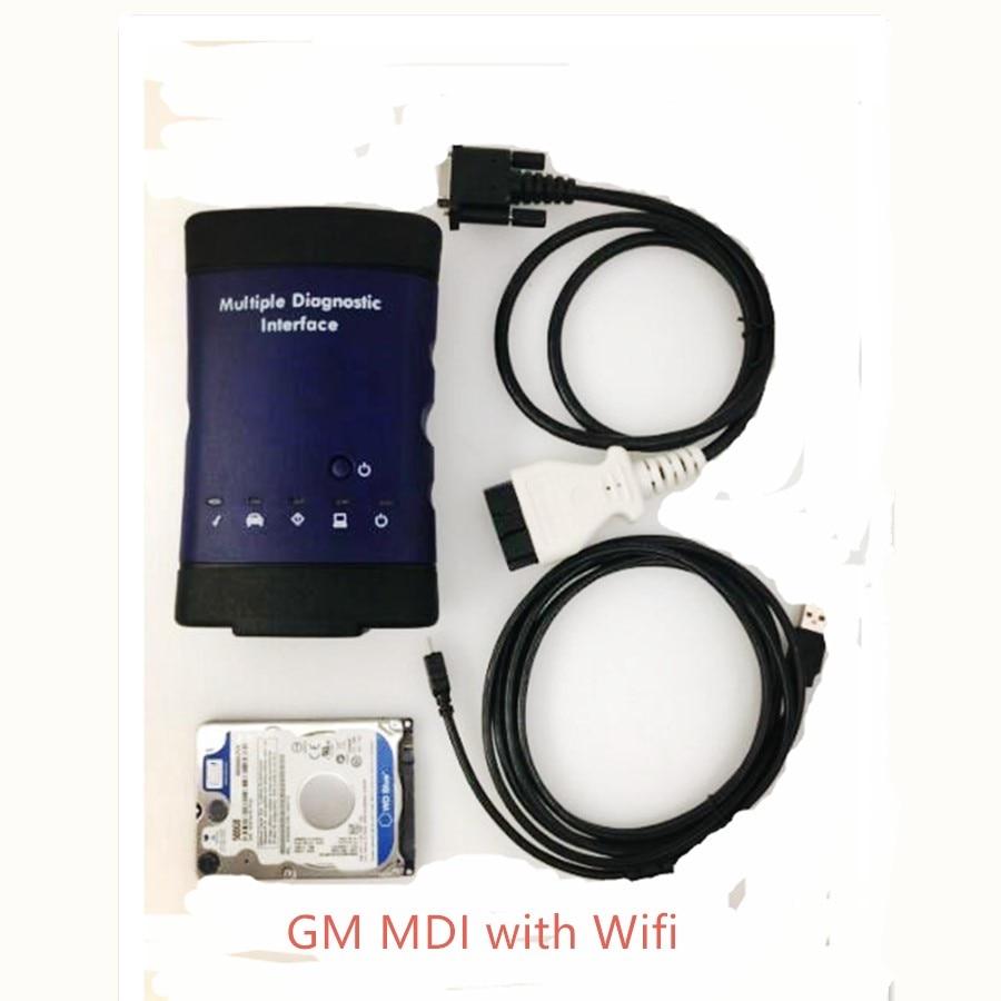 GDS2 GM Opel Vauxhall Saabシボレー診断プログラミングツールWifi USBバージョン技術2スキャナーの2019 MDI技術3複数インターフェイスOEM販売