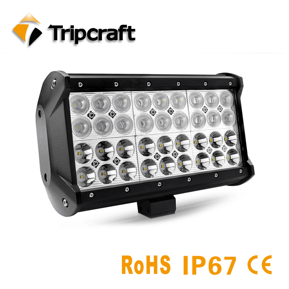 High Power Car Led Driving Light 108W LED Light Bar For Auto Car Offroad SUV ATV Spot Flood Beam led Working Light Free Shipping partol 31 330w 5d led light bar spot flood combo beam car work light bars driving lamp 4x4 offroad 4wd 12v atv suv