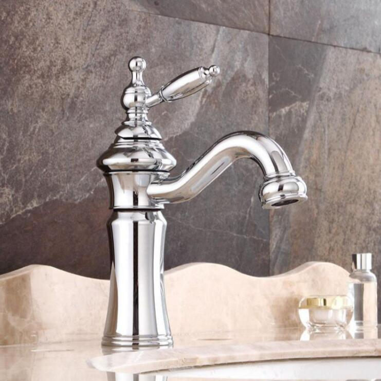 New Arrivals bathroom faucet high quality brass chrome water tap hot and cold sink faucet,bathroom basin faucet tap mixer micoe hot and cold water basin faucet mixer single handle single hole modern style chrome tap square multi function m hc203