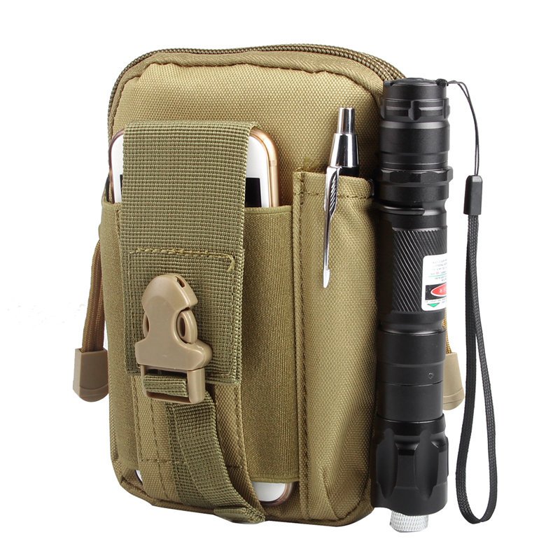 Nice Tactical Molle Pouch Admin Pouch With Cell Phone Pack Gear Tools Organizer Military Utility Outdoor Camping Pouch Compact Bag