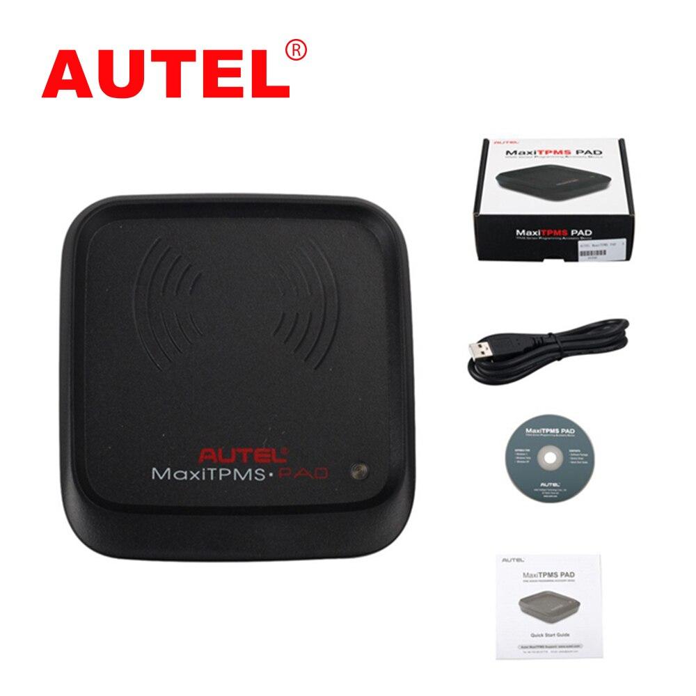 Newest Autel MaxiTPMS PAD TPMS Sensor Programming Accessory Device and Autel MX-Sensor 433MHz/315MHZ цена