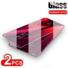 Jappinen 2Pcs/Lot Tempered Glass For Xiaomi Redmi K20 Pro Protective Mi 9T Screen Protector Film