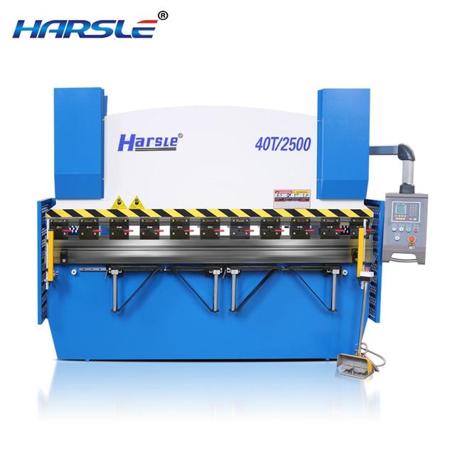 US $15200 0 |Hydraulic sheet metal bending machine 3 meter CE electrical  elements certification press brake machine-in Bending Machinery from Tools  on