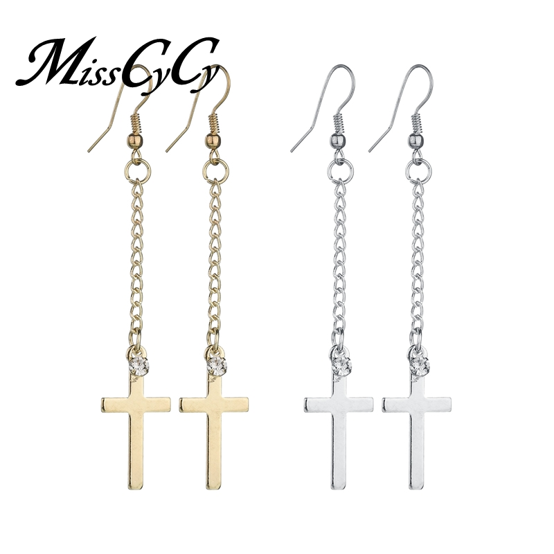 Buy rhinestone cross earrings and get free shipping on AliExpress.com d55d13540279