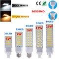 5W 7W 9W 11W 13W E27 G24 LED Corn Bulb Lamp Bombillas Light SMD 5050 Spotlight 180 Degree AC85-265V Horizontal Plug Light
