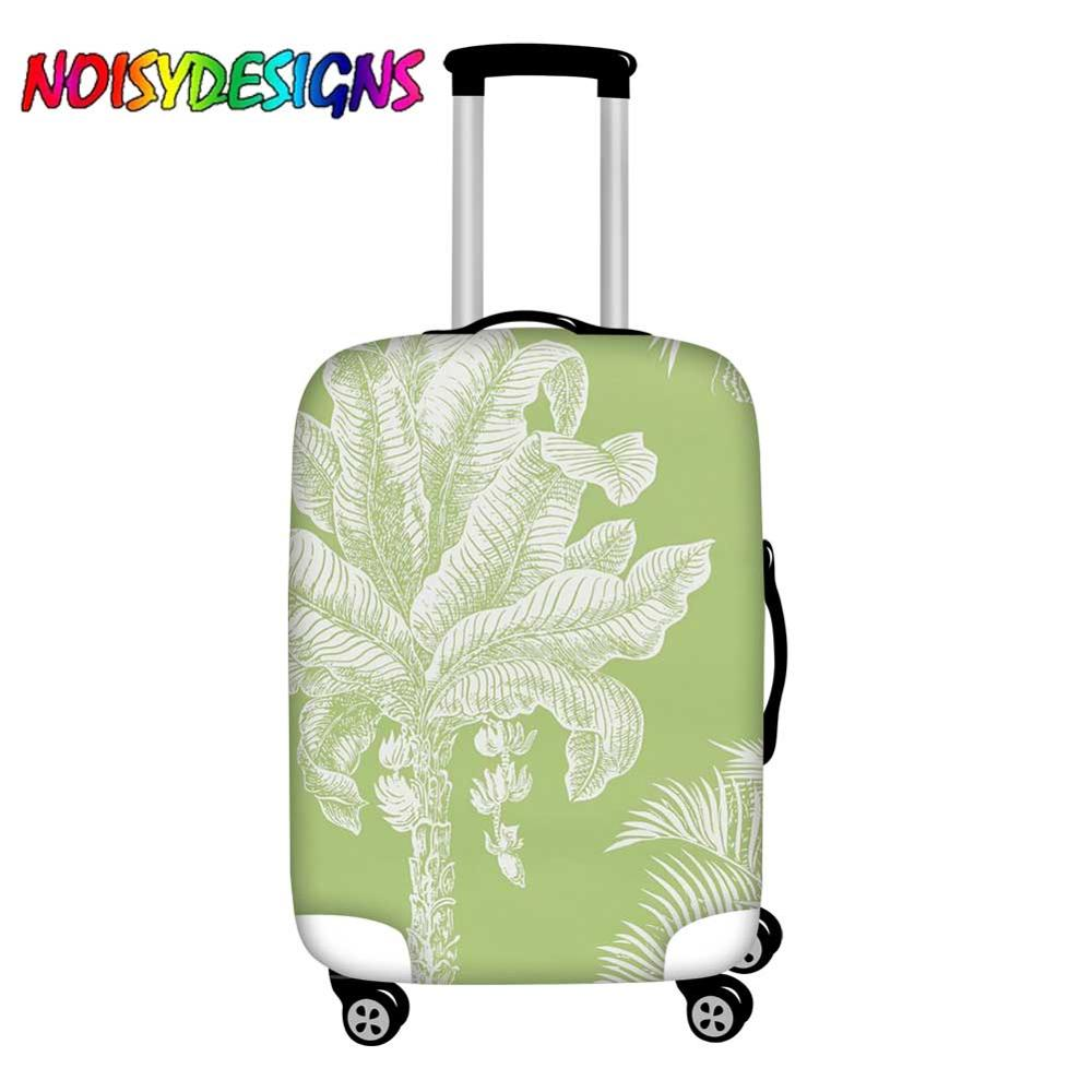 Noisydesigns Luggage Cover Palm Tree Suitcase Protective Cover Travel 18 32 Inch Trolley Elastic Dust Cover Travel Accessories