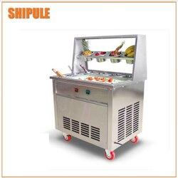Okrągła miska tajlandii płyta mrożąca do lodów handlowych smażone lody maszyny maszyna do lodu ice maszyny cena z dodatkami dziesięciu