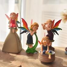 High Quality 13CM anime cartoon tinkerbell fairy pvc toys Adorable Tinker Bell Fashion doll Kids Girls Christmas Gifts