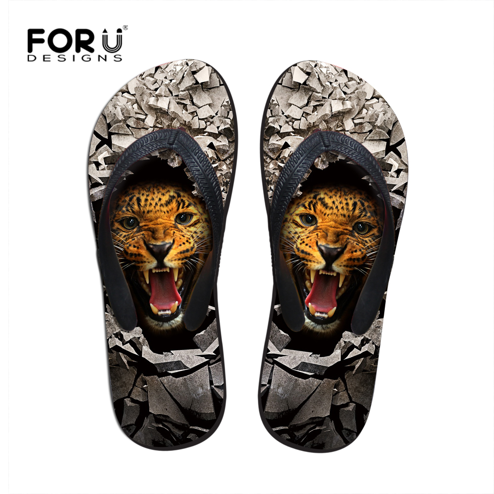 Realistic Luxury Summer Sandals Shoes Animal Leopard Men Flip Flops Personalized Beach Slippers For Men Fashion Casual Mens Sandals Catalogues Will Be Sent Upon Request Flip Flops