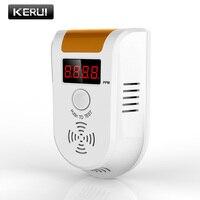 KERUI Wireless LED Digital Display Carbon Monoxide Gas Sensor CO Detector Alarm Gas Warning Alarm Sensor