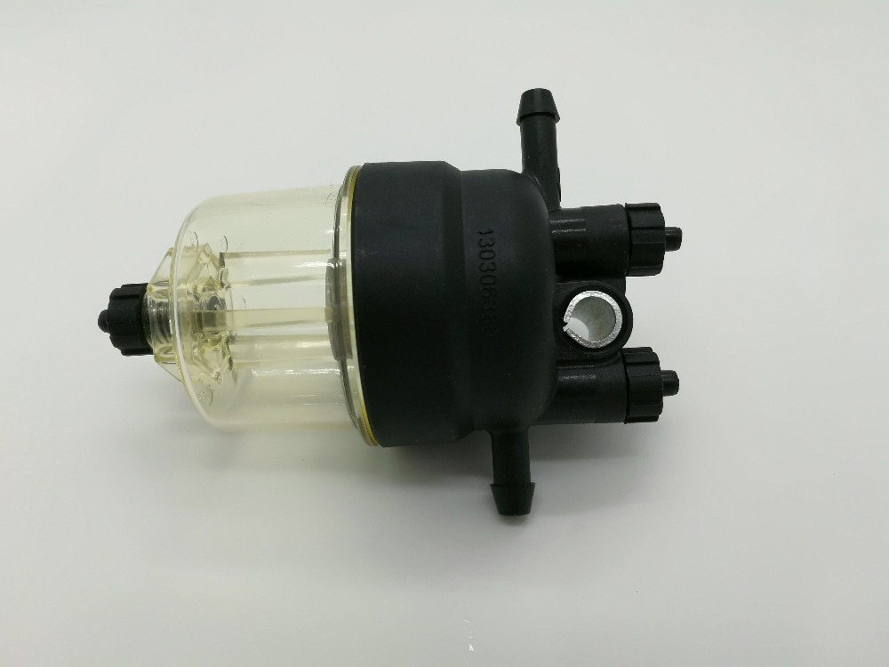 Pre-fuel water separator filter 130306380 400 series engine for Perkins 6162 63 1015 sa6d170e 6d170 engine water pump for komatsu