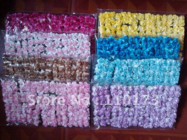 Free Shipping Scrapbook Paper Flowers 20cm Paper Rosewedding