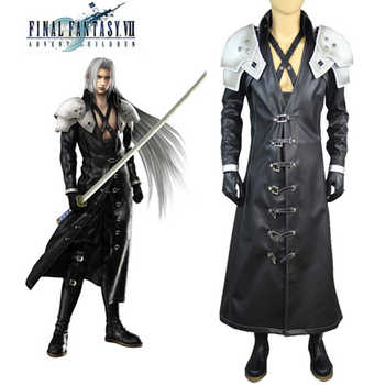 Final Fantasy 7 Sephiroth Cosplay Costume Full Suit Deluxe in Stock Custom Made - DISCOUNT ITEM  27% OFF All Category
