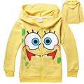 Kids Long Sleeve t-shirt boy Cartoon tops Spongebob clothes children huarache t shirts boys clothing vetement enfant garcon