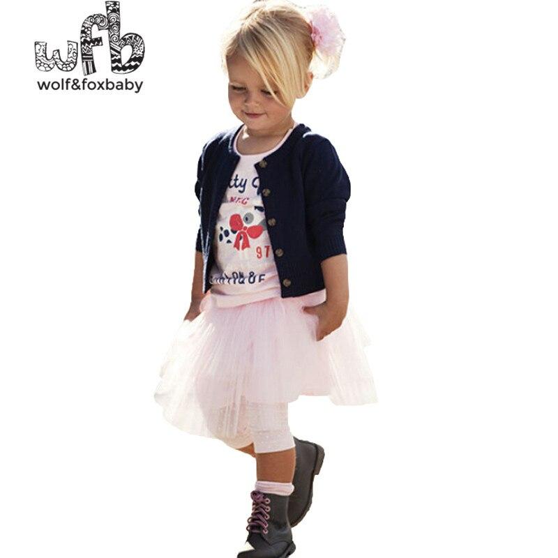 Retail design children clothing set for kids girl dark blue cardigan+T shirt+ pink skirt high quality 2014 new free shipping велосипед altair city high 28 19 2015 dark blue