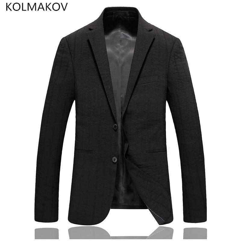 2019 hommes nouveau Style Masculino Blazer de luxe Slim Fit costumes de bal hommes manteaux mariage marié noir élégant hommes Blazers