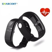 Smartcent SV66 Смарт Браслет монитор сердечного ритма IP67 Водонепроницаемый шагомер браслет напоминание прогноз погоды браслет