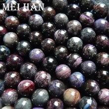 Meihan freies Verschiffen (1 armband/set/34g) natürliche Südafrika Sugilite 9,5 10mm glatte runde lose perlen stein für schmuck DIY