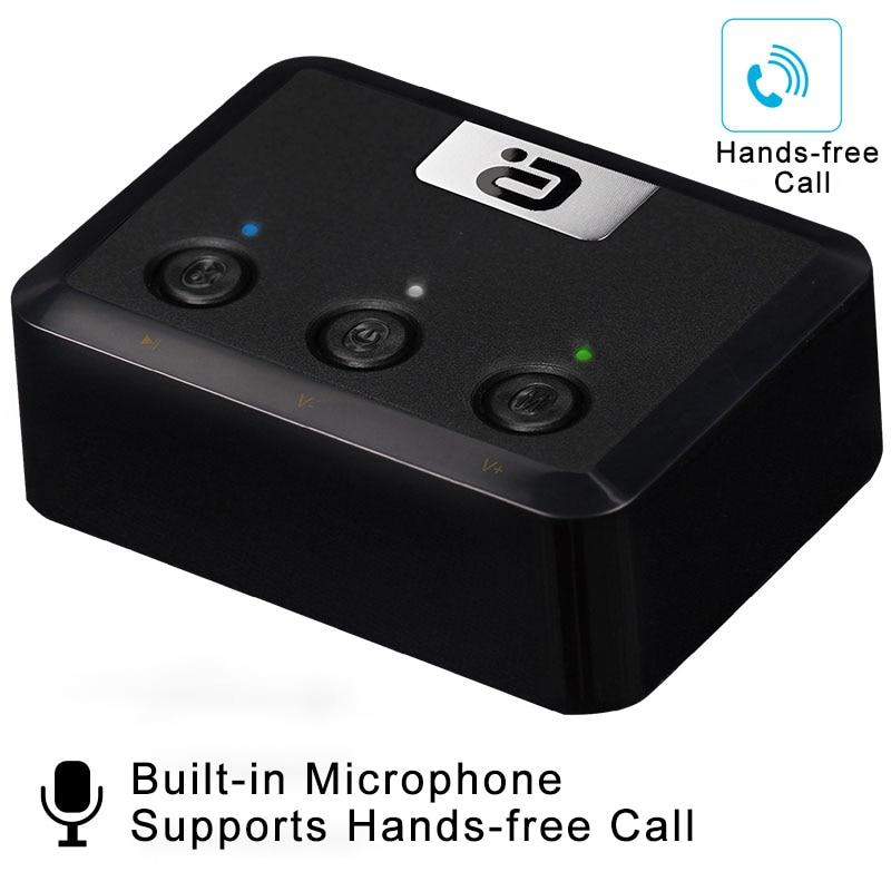 Récepteur Ayin MR235B_M Bluetooth 5.0 avec micro SPDIF/optique/Coaxial adaptateur Audio sans fil Jack Aux 3.5mm APTX faible latence