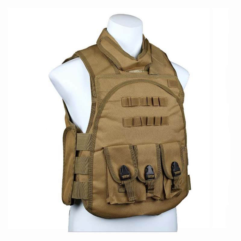 Hunting Military Tactical Vest Wargame Body Armor Hunting Vest CS Outdoor Equipment Paintball Combat Nylon Protective Vest outlife new style professional military tactical multifunction shovel outdoor camping survival folding spade tool equipment