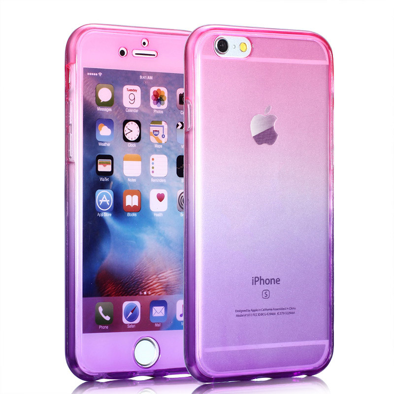 Kasatin Clear full cover silicone case for i6 6s (5)