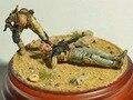 Масштабные Модели 1/35 ВТОРОЙ МИРОВОЙ ВОЙНЫ раненых солдат не имеют базовой пенсионной ставки Исторических ВТОРОЙ МИРОВОЙ ВОЙНЫ Смола Модель Бесплатная Доставка