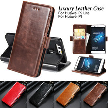 Luxury Leather Wallet Case for Huawei P9 P10 Plus P8 Lite 2017 Flip Stand Cover for Huawei Mate 8 9 Pro Y5 Y6 II Honor 8 9 V8 V9(China)